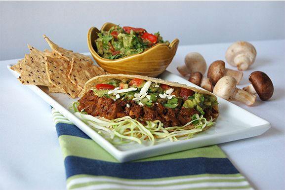 blended mush taco