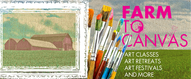 From Farm to Canvas - Farms offering the ARTS!