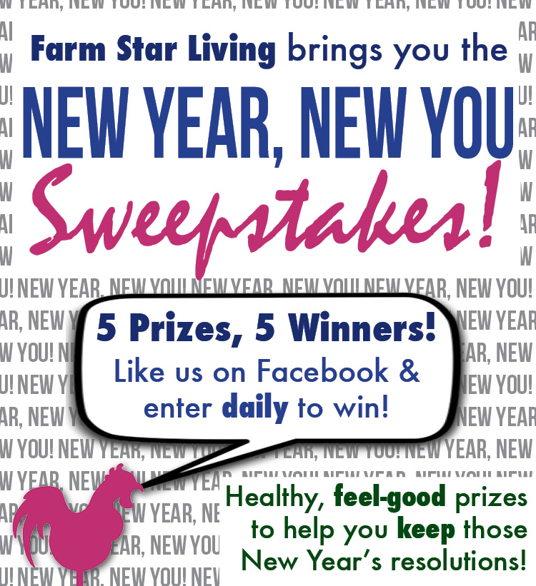 New Year, New You Giveaway!