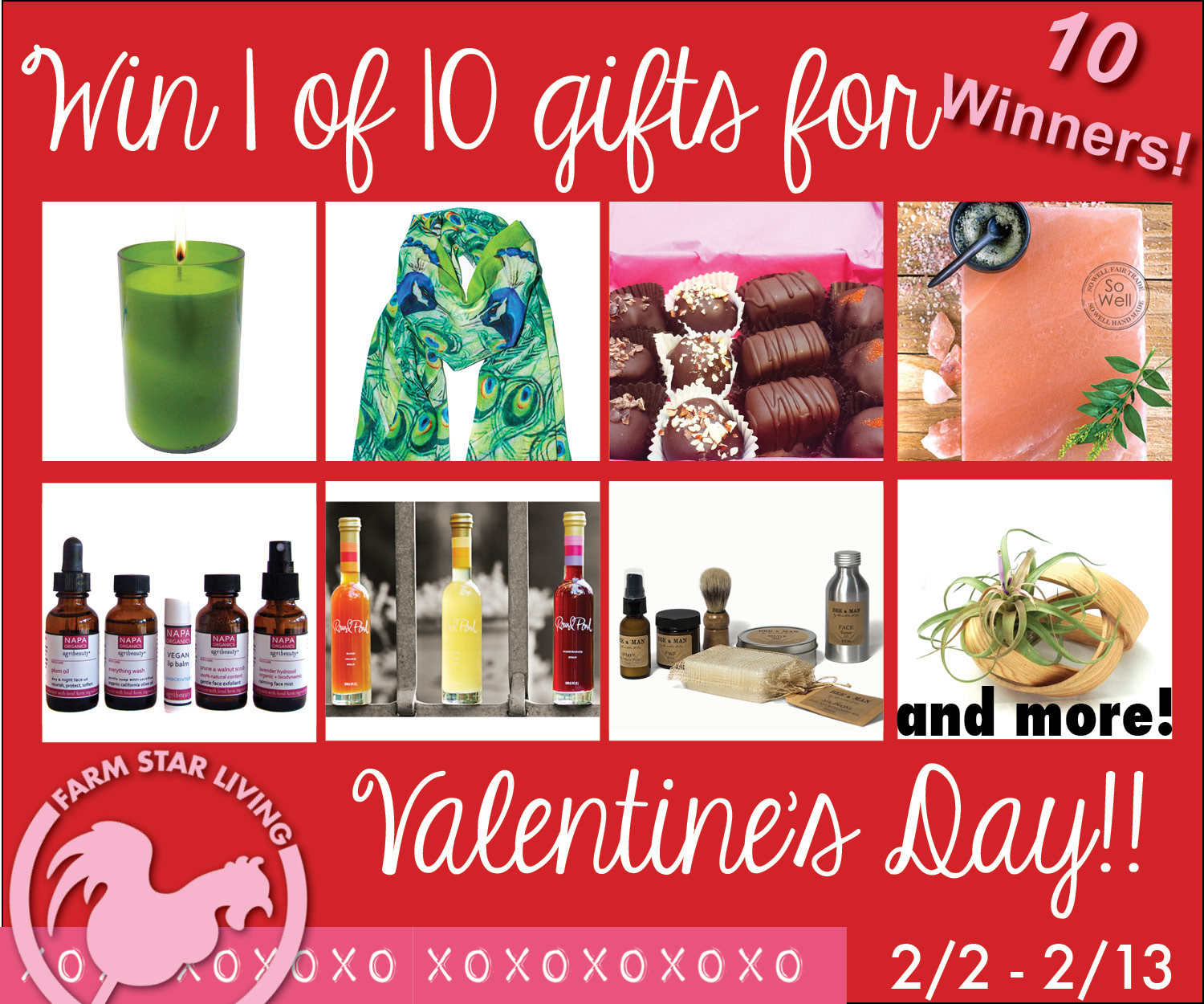 Swoon your Valentine with these Fabulous Gifts!
