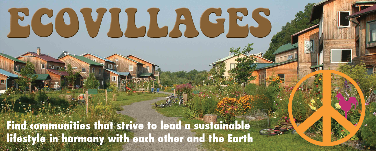 sustainable living eco villages Sustainable eco villages is a social network set up for people to find others interested in forming eco villages through the network users can form or join a group that may then go on to form an eco village together.