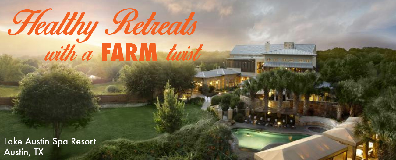 Healthy Retreats with a Farm Twist!