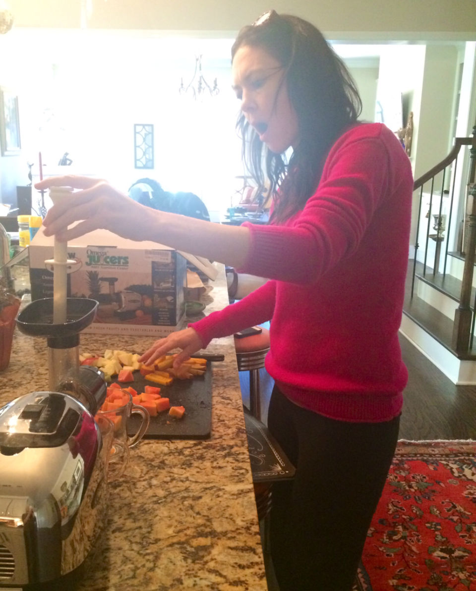 MY BLOG - Why I Haven't Juiced  (until today)