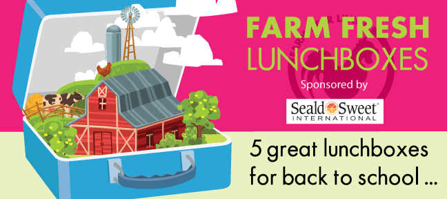 Farm Fresh Lunchboxes with Seald Sweet!