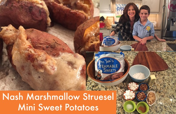 Nash Marshmallow Streusel Sweet Potatoes