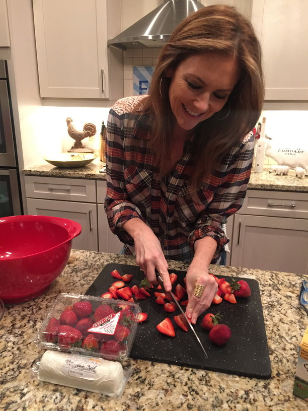 The Simply Sumptious Strawberry – and A Recipe I Just Made!