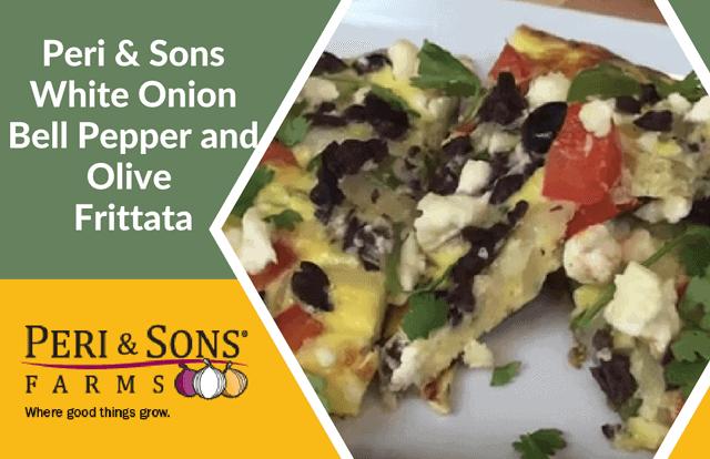Peri & Sons White Onion Frittata