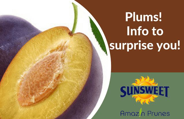 Plums - info to surprise you!
