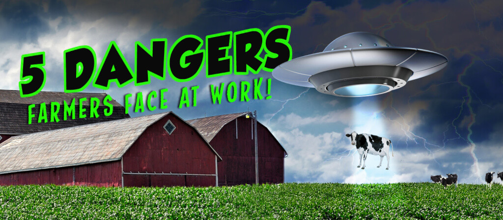 5 Dangers Farmers Face at Work!