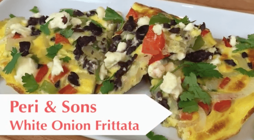 Peri & Sons White Onion Frittata