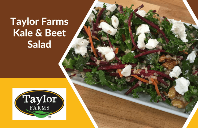 Taylor Farms Kale & Beet Salad Recipe