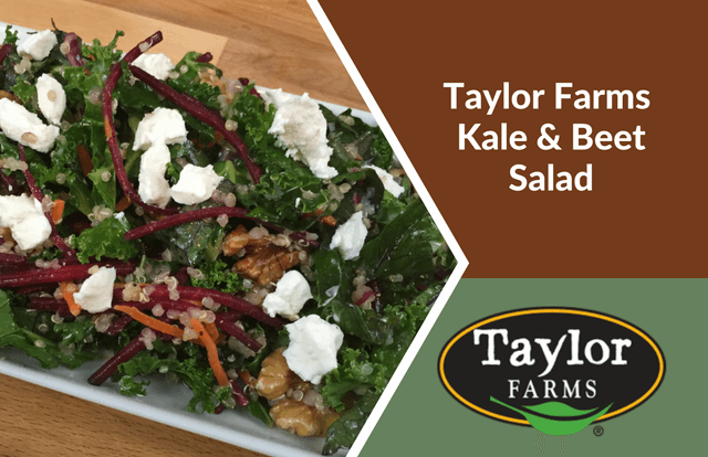 Taylor Farms Kale & Beet Salad