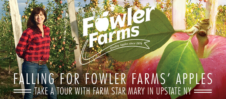Falling for Fowler Farms' Apples!