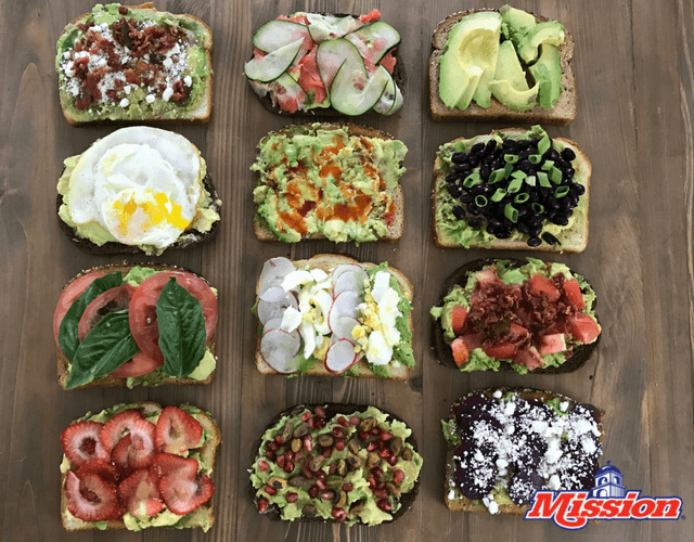 The 12 Days and 12 Ways of Avocado Toast!