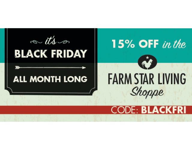 Black Friday Savings - Start Now!
