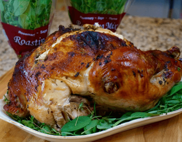 Thanksgiving Turkey with Roasting Mix Herbs
