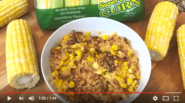 Delicious Corn & Cheese Casserole