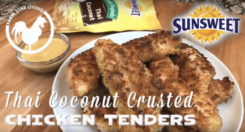 Thai Coconut Crusted Chicken Tenders
