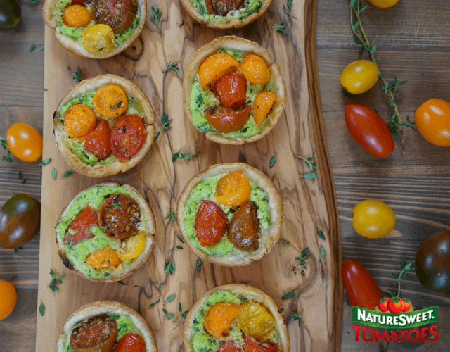 NatureSweet® Constellation Tomato Tarts
