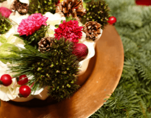 Holiday Happiness with FLOWERS!