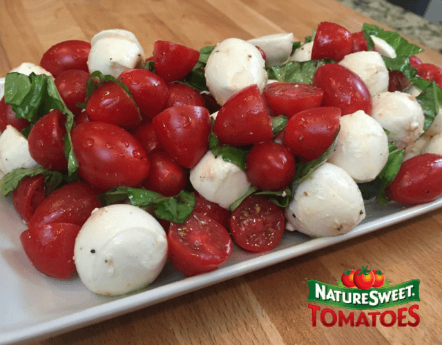 NatureSweet® Cherubs ® Tomato Caprese Salad