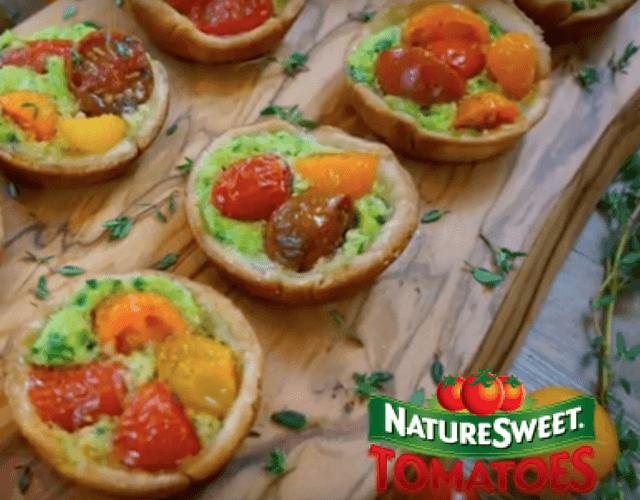 Mini NatureSweet Constellation Tomato Tarts