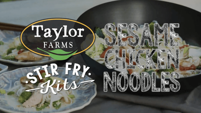 Taylor Farms Sesame Chicken Noodle Stir Fry Kit