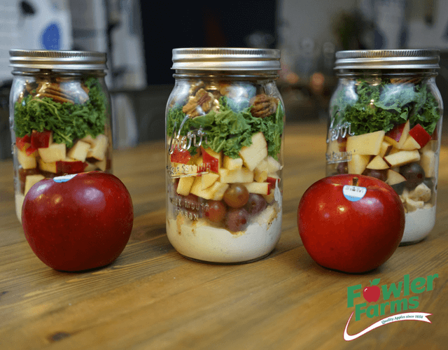 Ruby Frost Apple & Chicken Salad - to go!