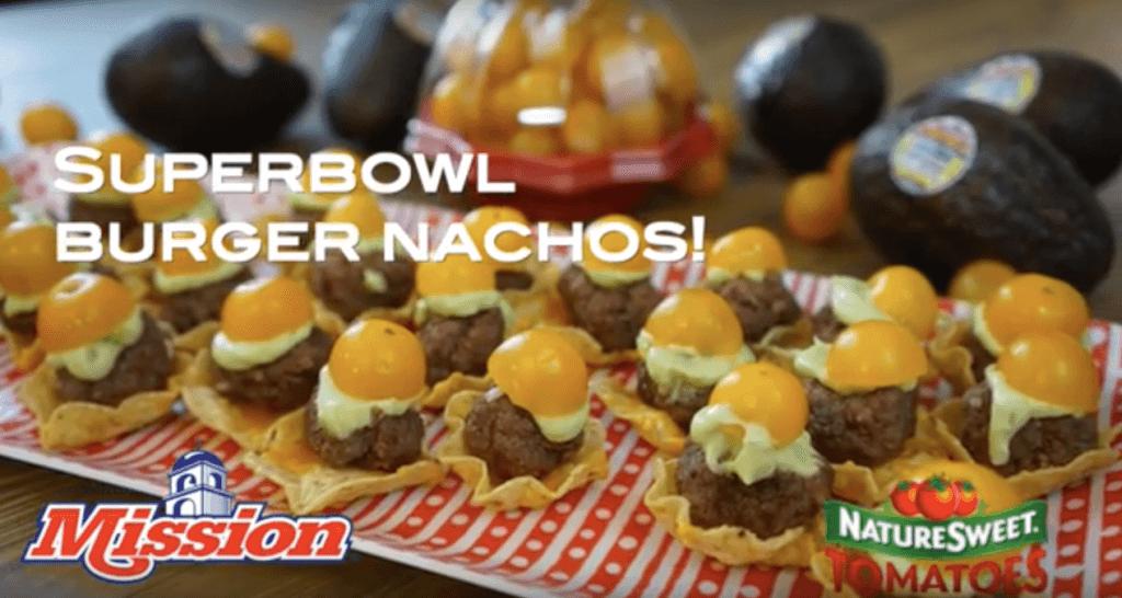 Superbowl Burger Nachos