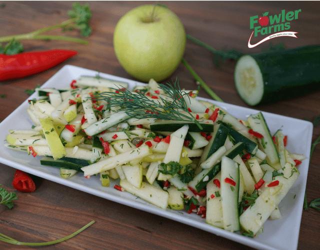 Crispin Apple & Cucumber Salad