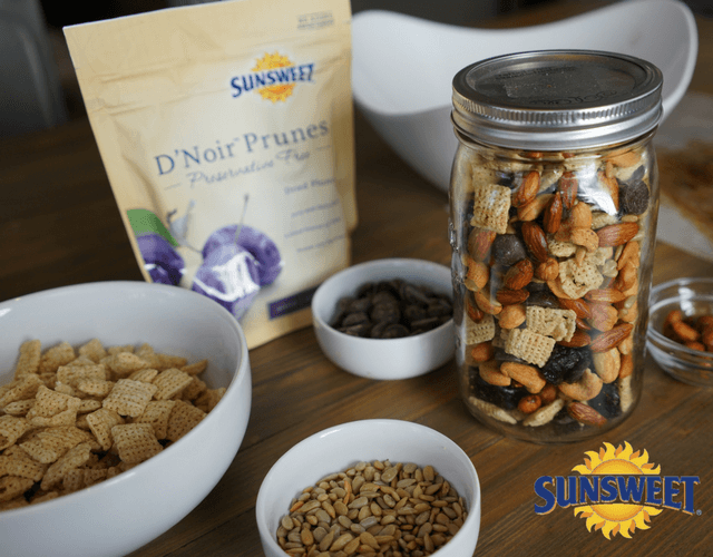 Sweet Heat Trail Mix with Sunsweet Prunes