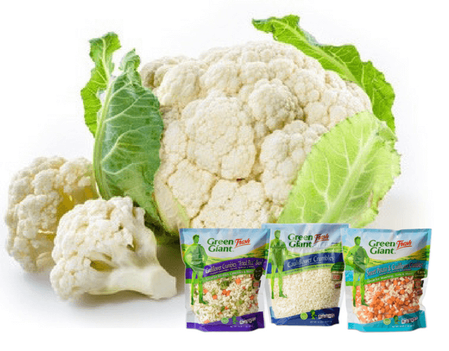 Cauliflower Crumbles from Green Giant Fresh
