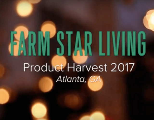 Product Harvest 2017