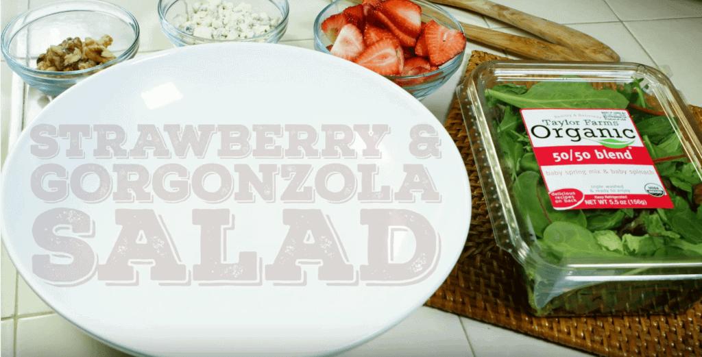 Strawberry Gorgonzola Salad