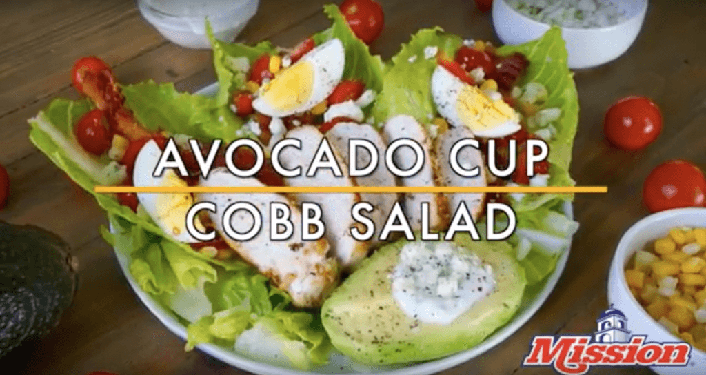 Avocado Cup Cobb Salad