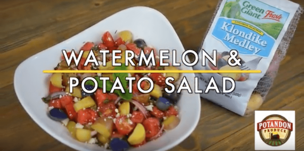 Watermelon & Klondike Potato Salad