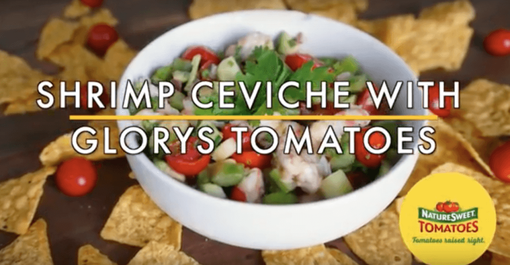 Shrimp Ceviche with Glorys