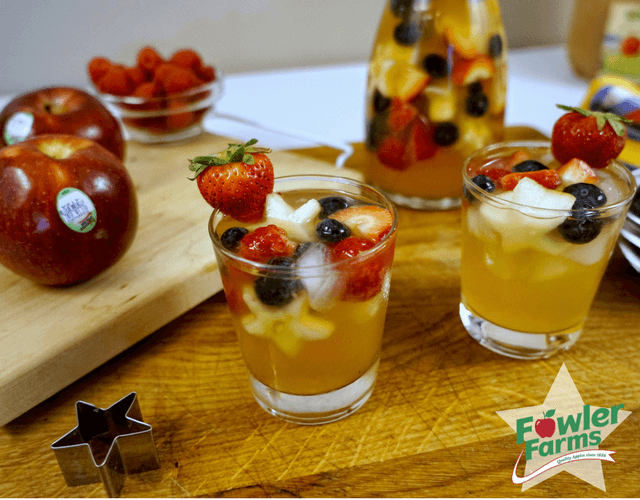 Fowler Farms Apple Sangria