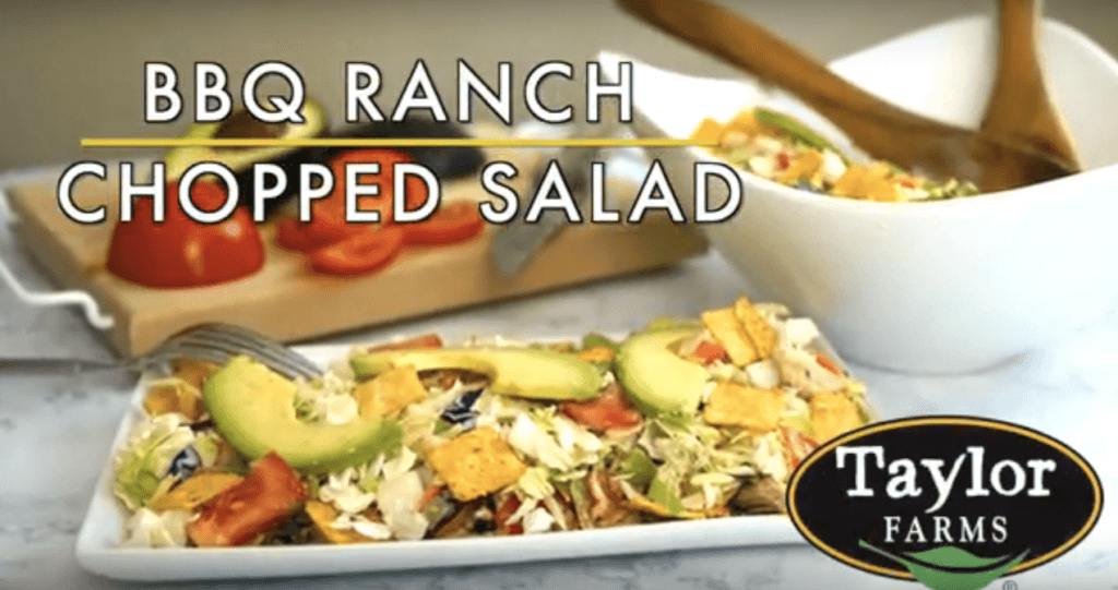 BBQ Ranch Chopped Salad
