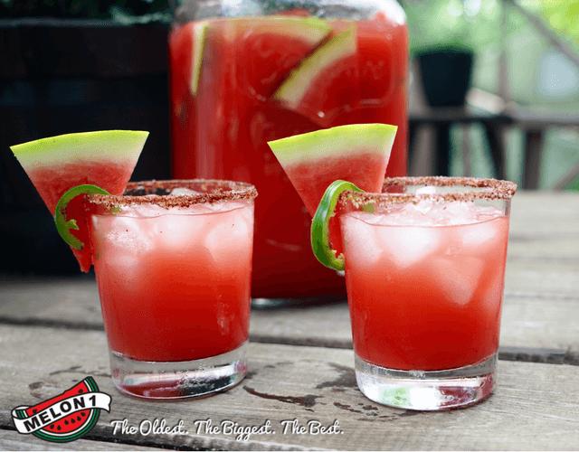 Spicy Melon 1 Watermelon Margarita