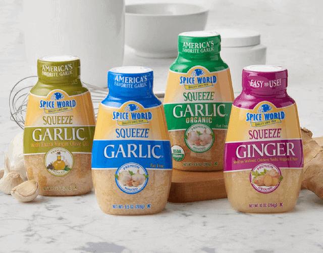 Spice World SQUEEZE Minced Garlic