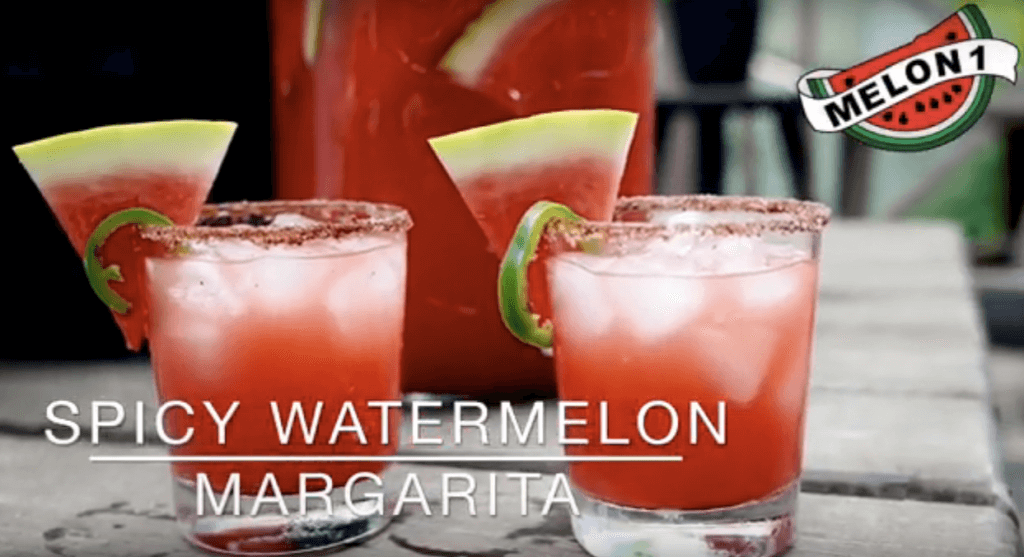 Spicy Melon 1 Watermelon Margarita