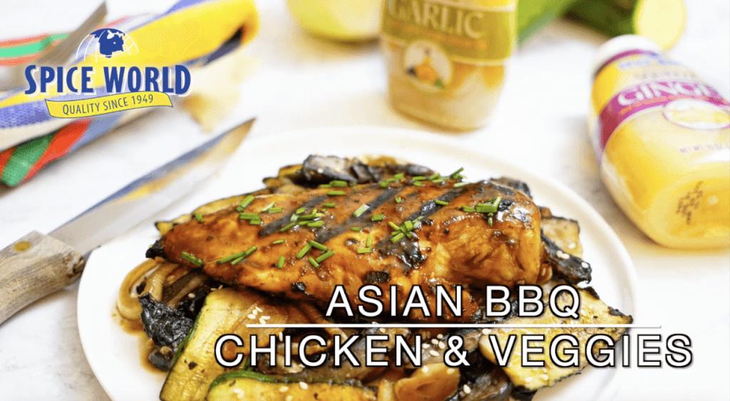 Spice World Asian Chicken & Veggies