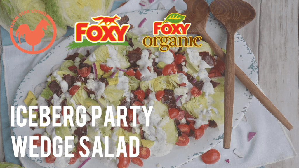 Foxy Iceberg Party Platter Wedge Salad