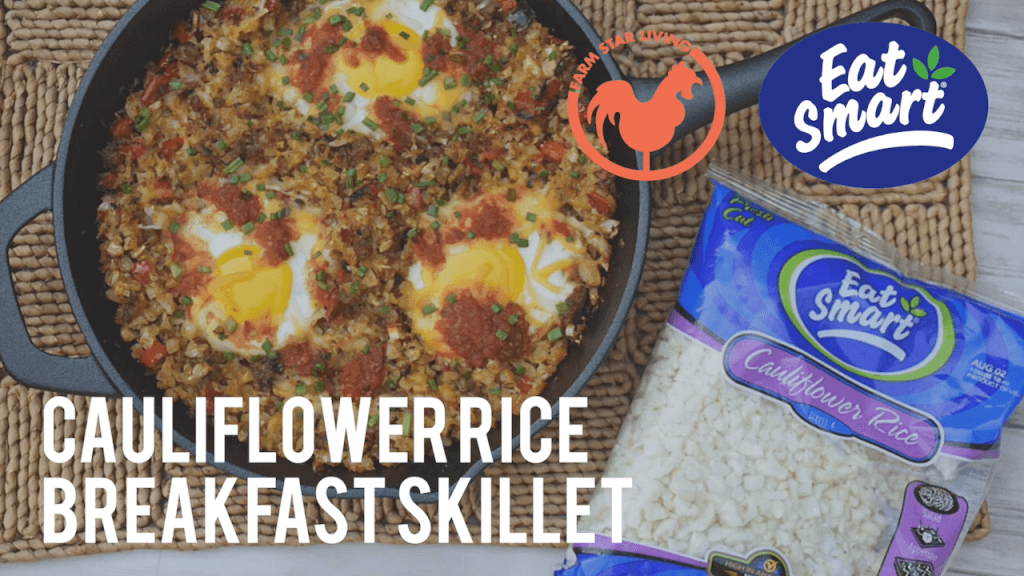 Eat Smart Cauliflower Rice Breakfast Skillet