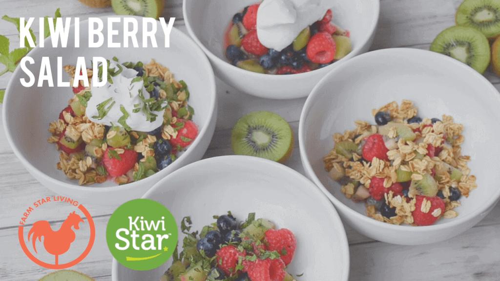 KiwiStar Kiwi Berry Salad