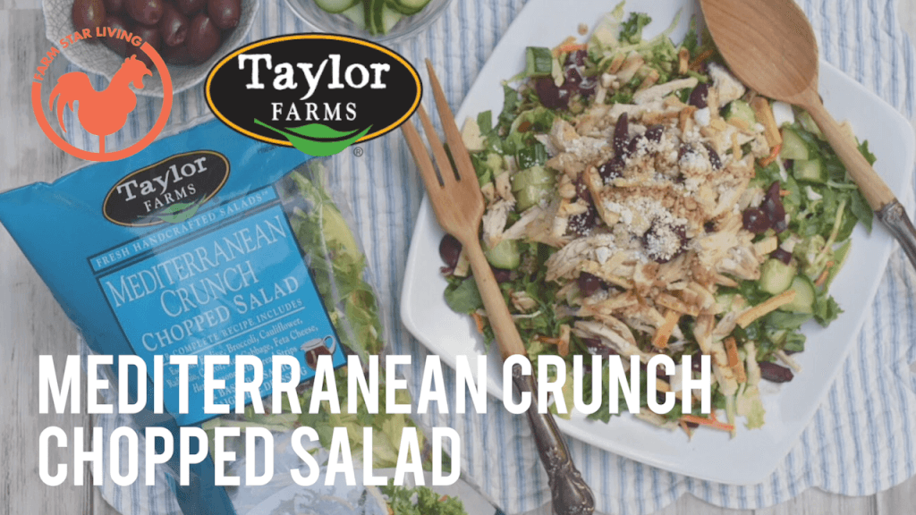 Taylor Farms Mediterranean Crunch Chopped Salad