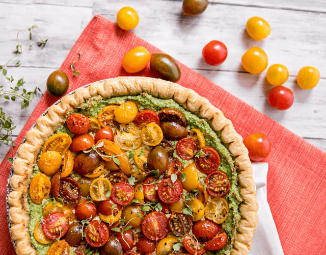 Constellation™ Tomato Tart with Spinach