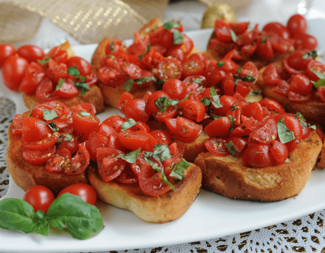 Cherubs® Tomato Bruschetta on Texas Toast