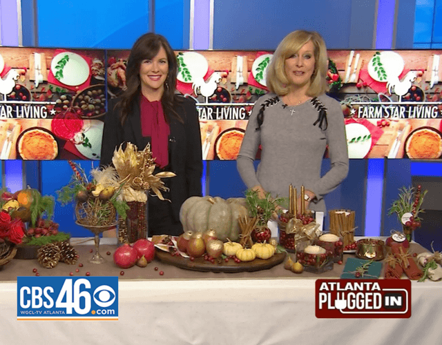 Holiday Fresh Food Tablescape!